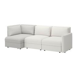 VALLENTUNA Sofá modular 3 con sofá cama