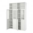 PLATSA Combinación de armario y estantería