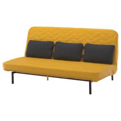 NYHAMN Sofa-bed with triple cushion