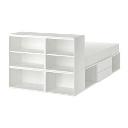 PLATSA Estructura cama con almacenaje