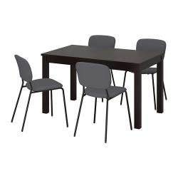 LANEBERG/KARLJAN Mesa con 4 sillas