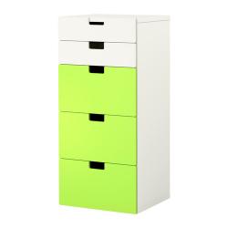 STUVA Combinación almacenaje+cajones