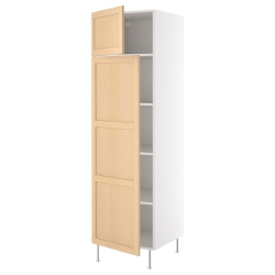 AKURUM Armario alto+estantes/2 puertas